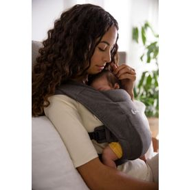 Ergobaby Embrace Cozy Newborn Carrier Heather Grey