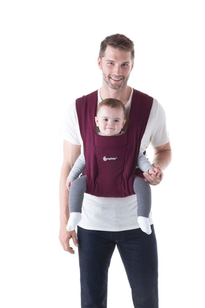 Ergobaby Embrace Cozy Newborn Carrier Burgundy image 6