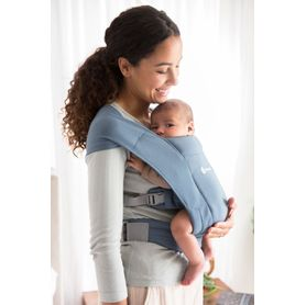 Ergobaby Embrace Cozy Newborn Carrier Oxford Blue