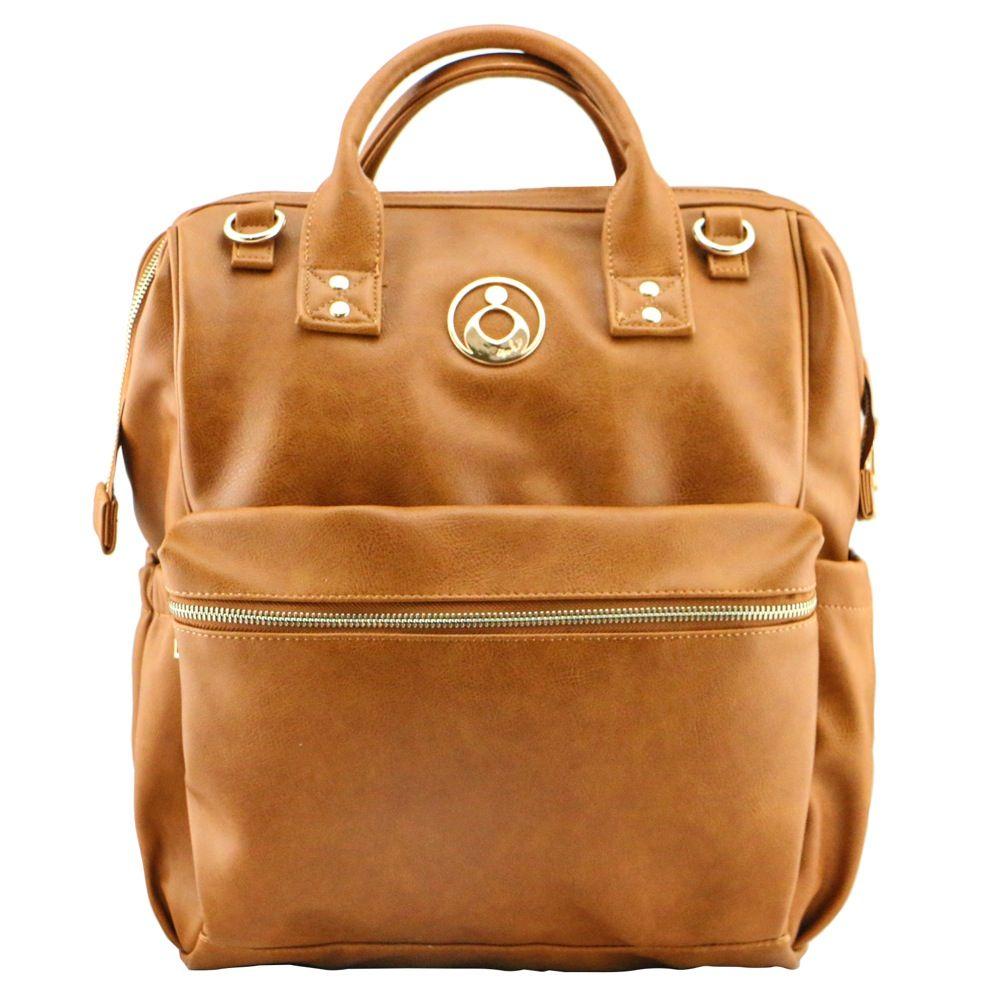 Isoki Byron Backpack Nappy Bag - Amber