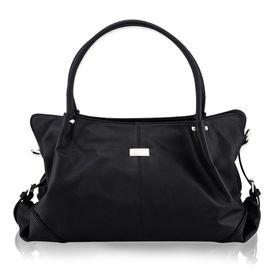 Isoki Anakie Satchel Nappy Bag - Onyx Black