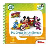 Leap Frog Leapstart 3D Mickey & The Roadster Racers Pit Crews To The Rescue image 5