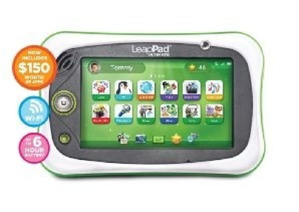 Leap Frog Leappad Ultimate Get Ready For School Bundle Green
