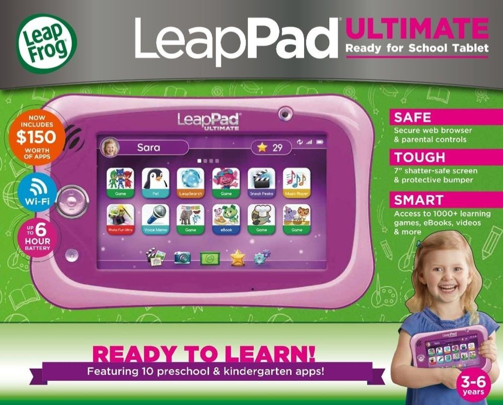 Leap Frog Leappad Ultimate Get Ready For School Bundle Pink image 1