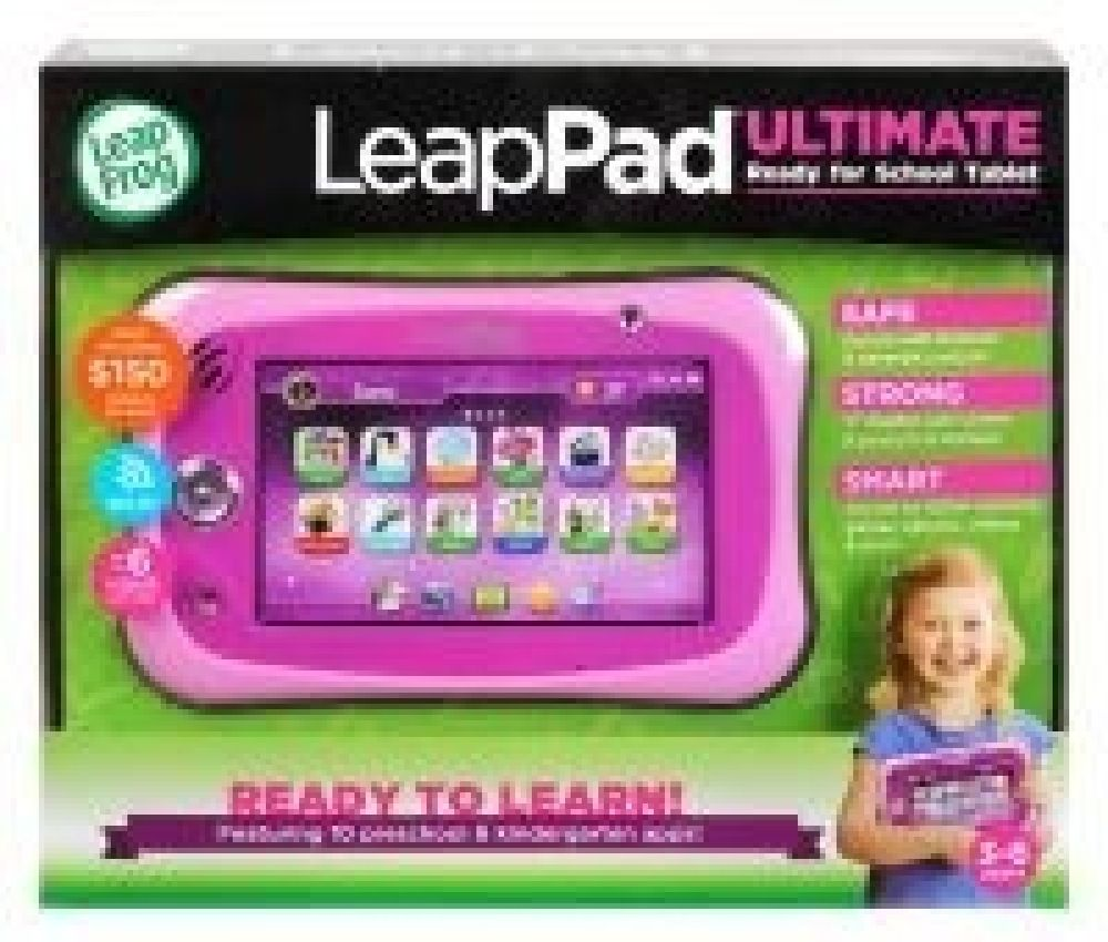 Leap Frog Leappad Ultimate Get Ready For School Bundle Pink image 5
