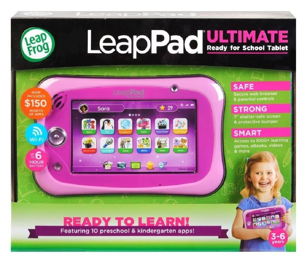 Leap Frog Leappad Ultimate Get Ready For School Bundle Pink image 7