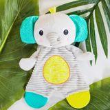 Bright Starts Snuggle & Teethe Plush Teether - Elephant image 1