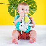 Bright Starts Snuggle & Teethe Plush Teether - Elephant image 5