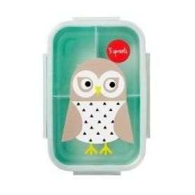 3Sprouts Bento Lunch Box - Owl
