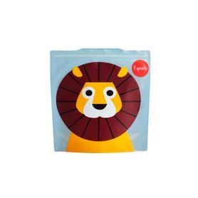 3Sprouts Reusable Sandwich Bag - 2Pack - Lion