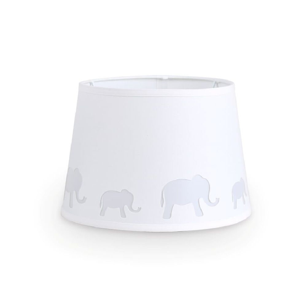 The Peanut Shell Lamp Shade Elephant Cut Out