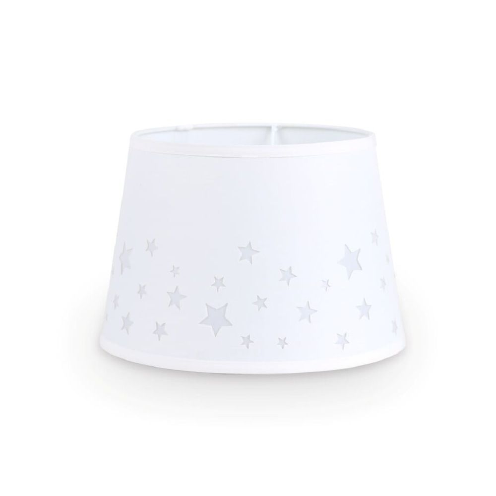 The Peanut Shell Lamp Shade Stars Cut Out