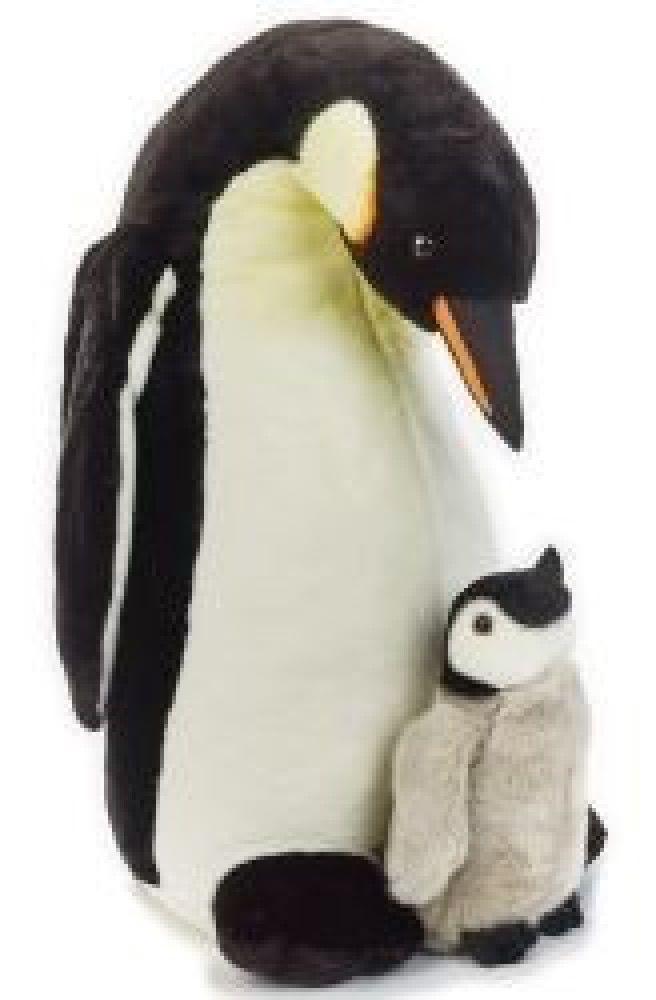 National Geographic Giant Plush Penguin & Baby 70cm