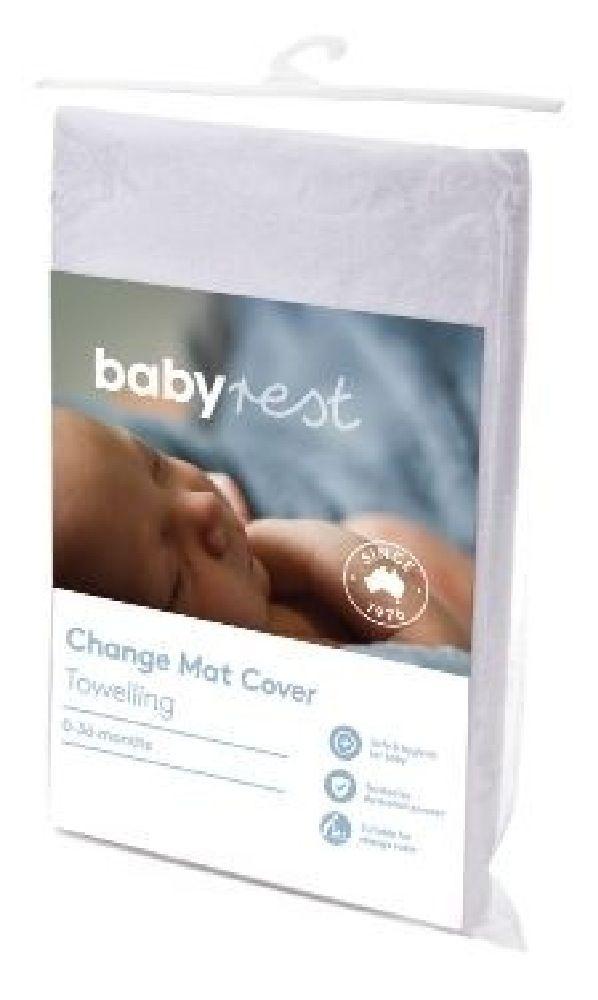Babyrest Changepad Cover Boori White image 0