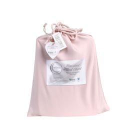 Bambi Baby Tencel Bassinet Fitted Sheet Blush