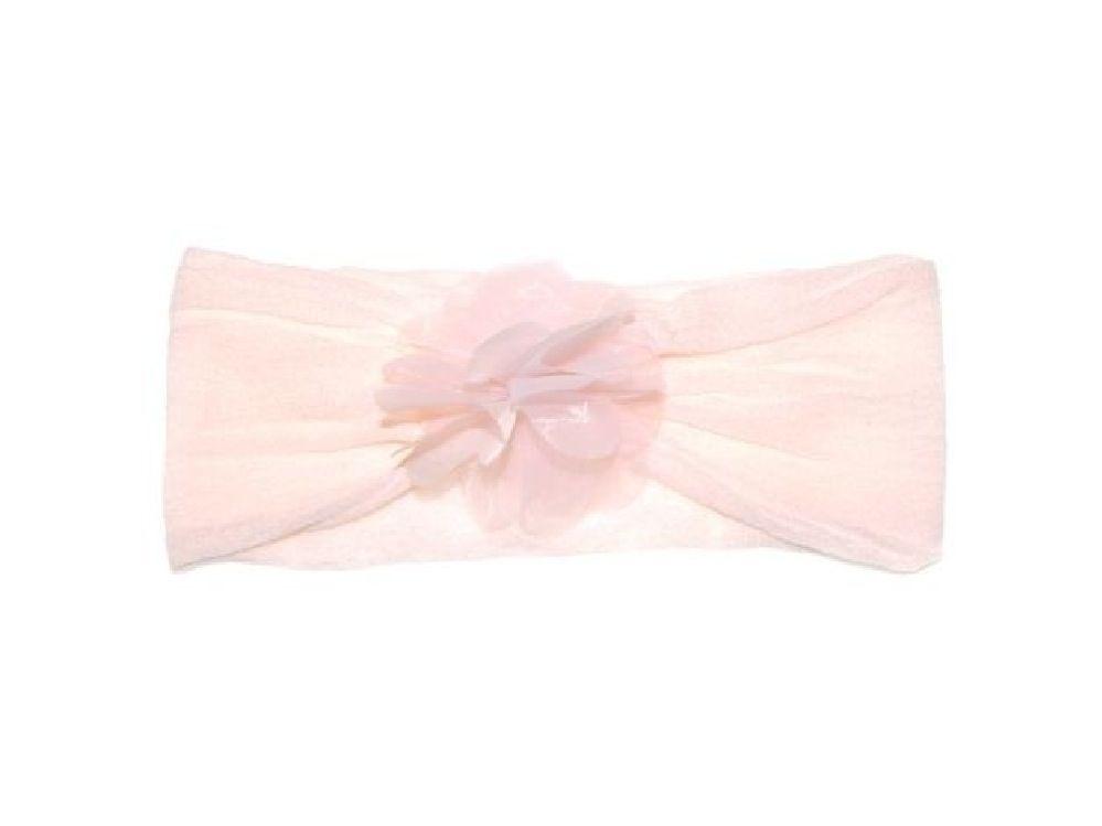 4Baby Organza Flower Baby Headband Pink Osfa image 0