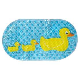 Star And Rose Duck Duck Duckiest Bath Mat Blue/Yellow