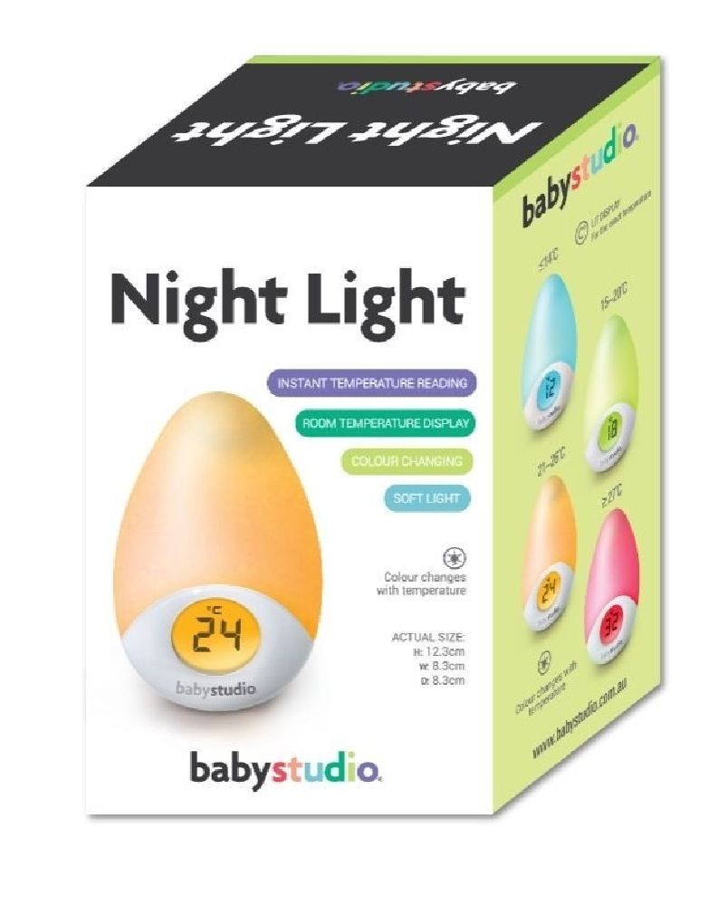 Baby Studio Tear Night Light and Room Temperature Reading image 1