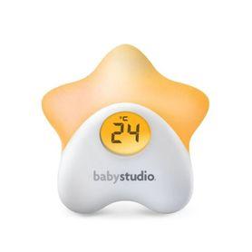 Baby Studio Star Night Light and Room Temperature Reading