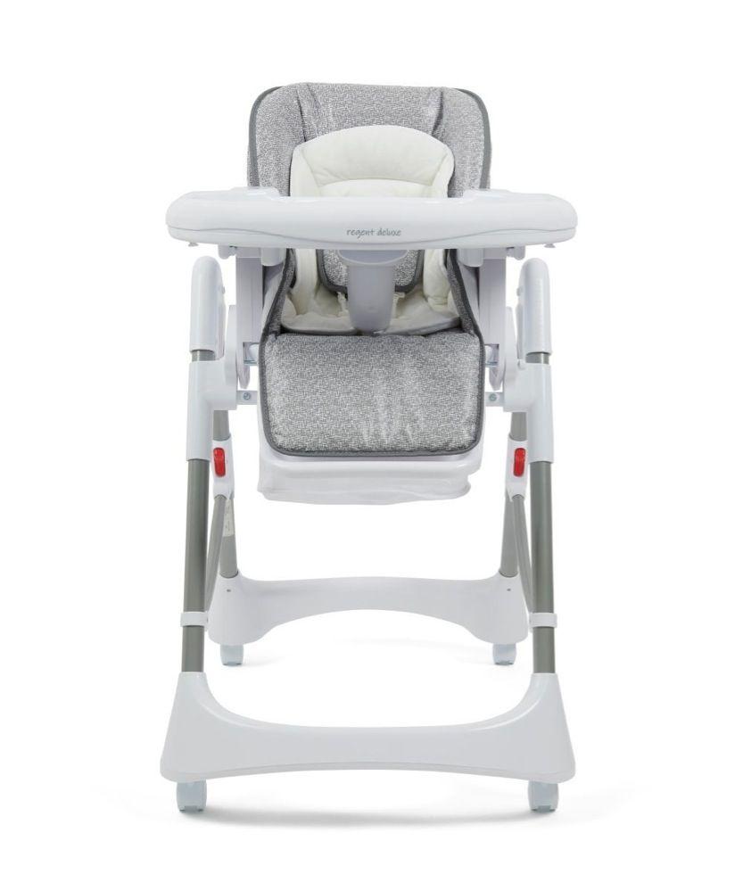 4Baby Regent Deluxe High Chair Grey Melange