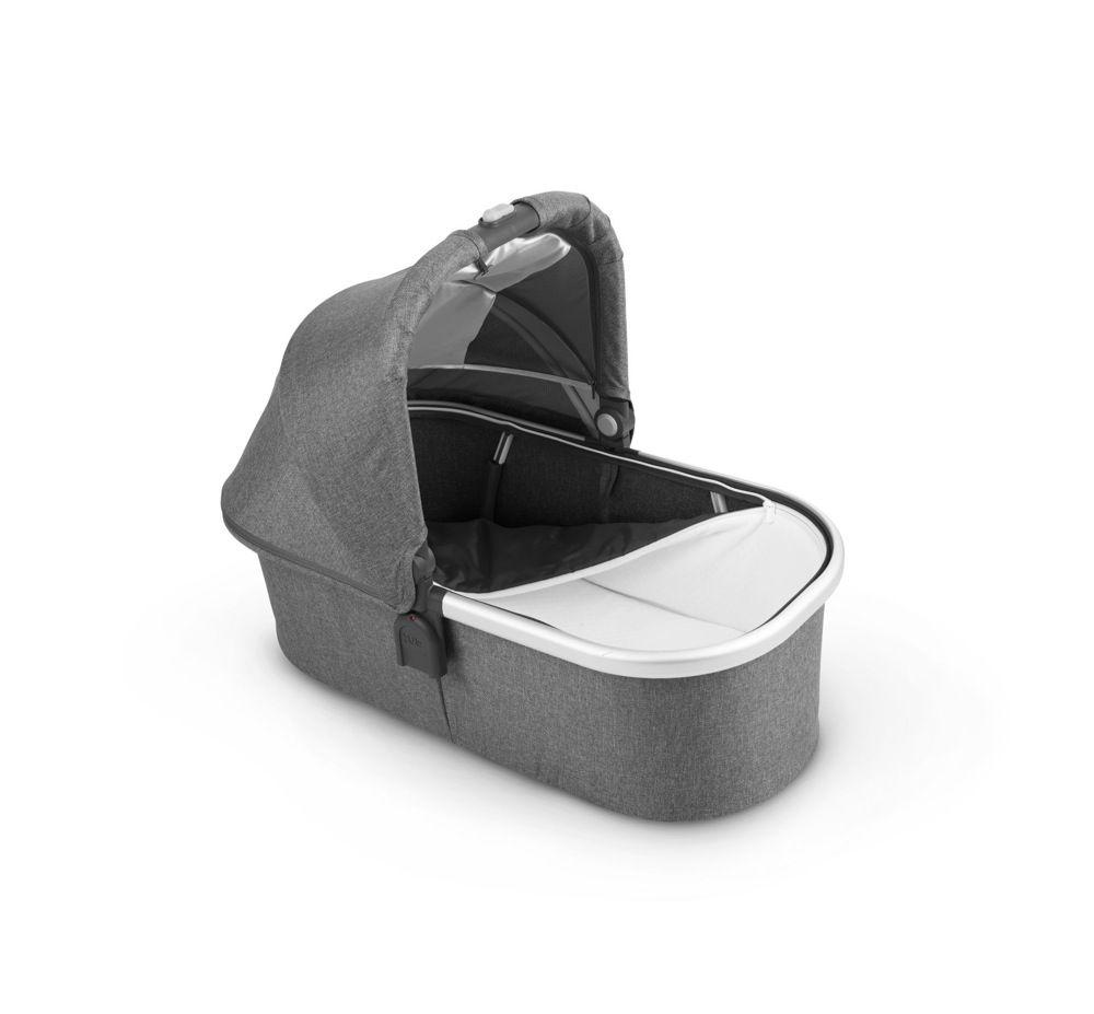 Uppababy V2 Carrycot Charcoal Melange / Silver (Jordan)