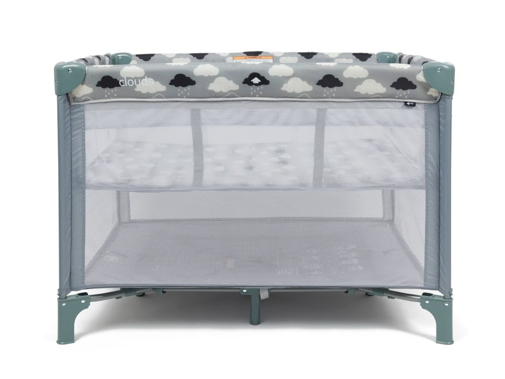 4Baby Clouds 2 In 1 Portable Cot image 3