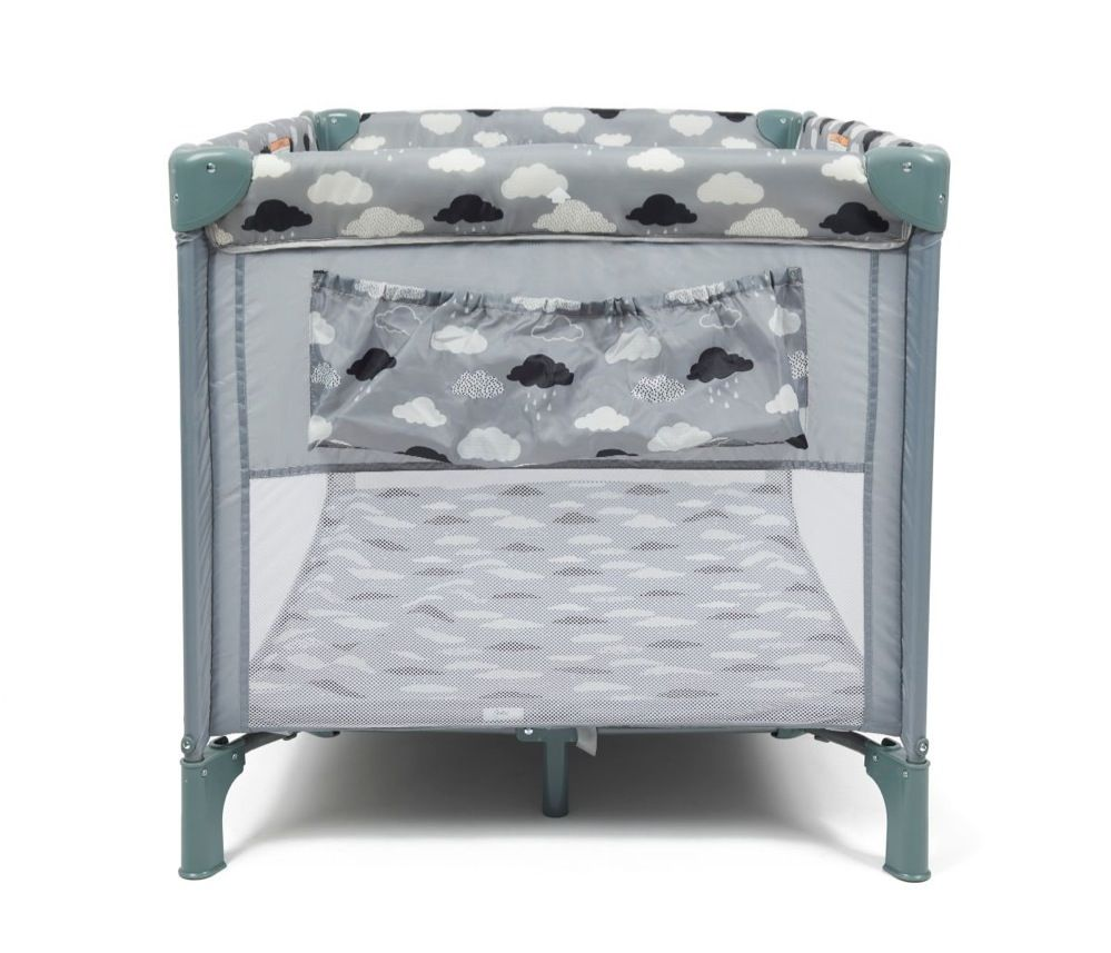 4Baby Clouds 2 In 1 Portable Cot image 4