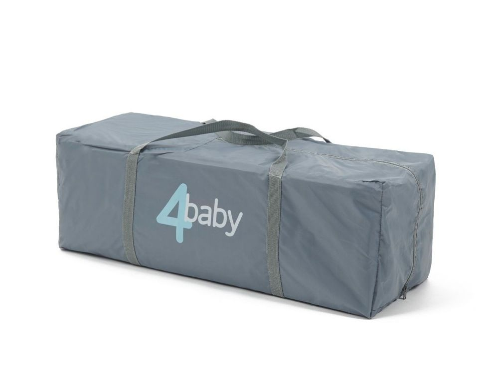 4Baby Clouds 2 In 1 Portable Cot image 6
