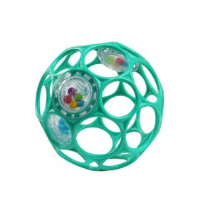 Oball Rattle Easy-Grasp Ball Teal