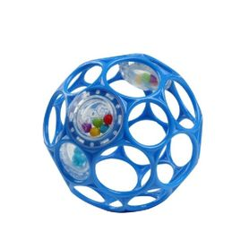 Oball Rattle Easy-Grasp Ball - Blue