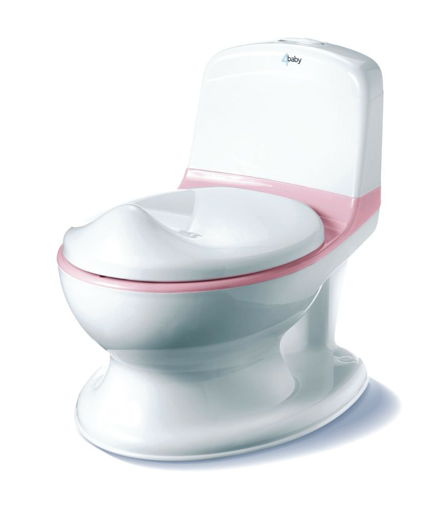 4Baby My First Potty Pink/White image 0