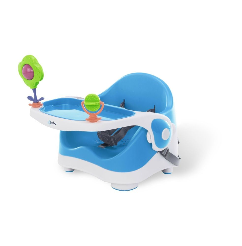 4Baby Sit And Play Booster Seat Blue image 0