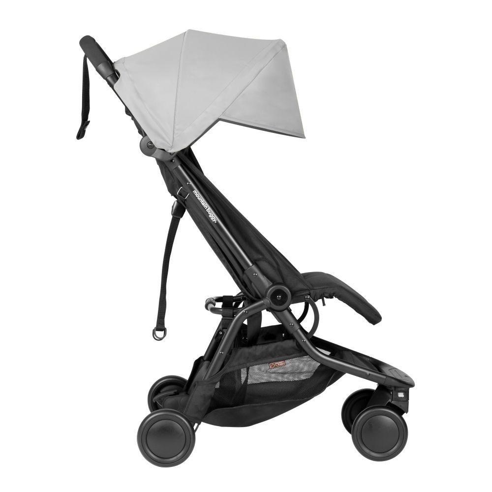 Mountain Buggy Nano Travel Stroller Silver V3