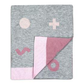 Weegoamigo Hola Knit Blanket Digital Pink