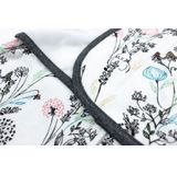 Nest Design Organic Swaddle Sleeping Bag 0.5 Tog Meadow Small image 2