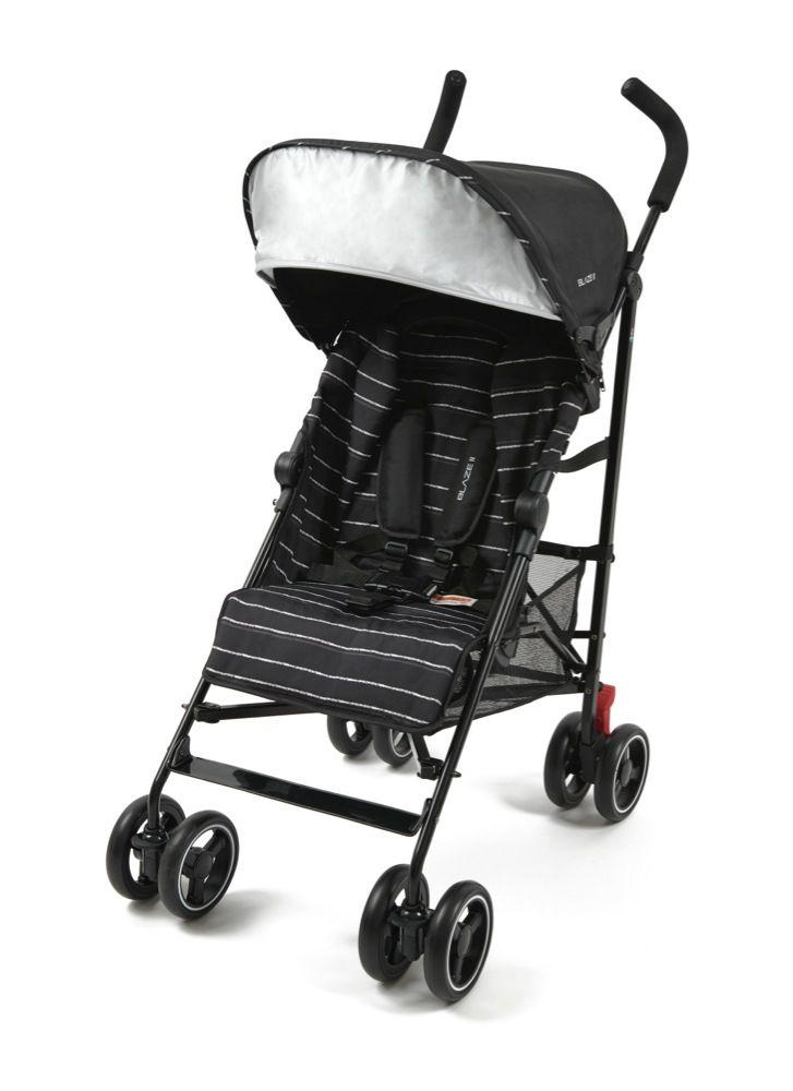 4Baby Blaze II Stroller Black Stripe