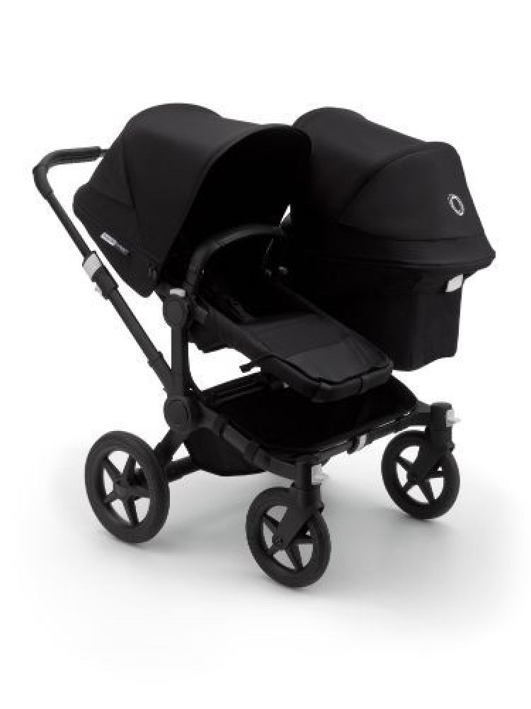 Bugaboo Donkey3 Duo Extension Complete Black/Black-Black