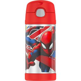 Thermos Funtainer Insulated Bottle - Spiderman - 355ml