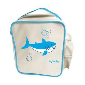 My Family Easy Clean Bento Cooler Bag - Shark