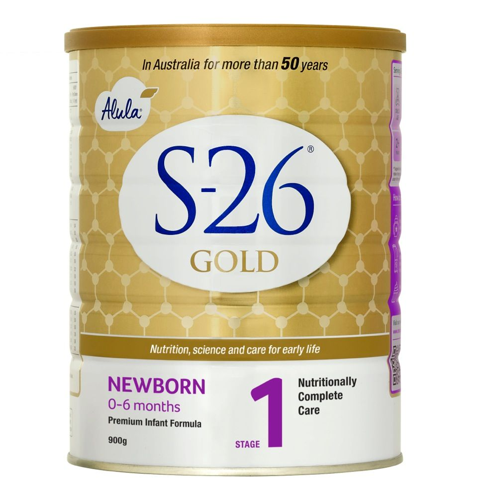 S-26 Gold Alula Formula - Newborn 0-6months - 900g