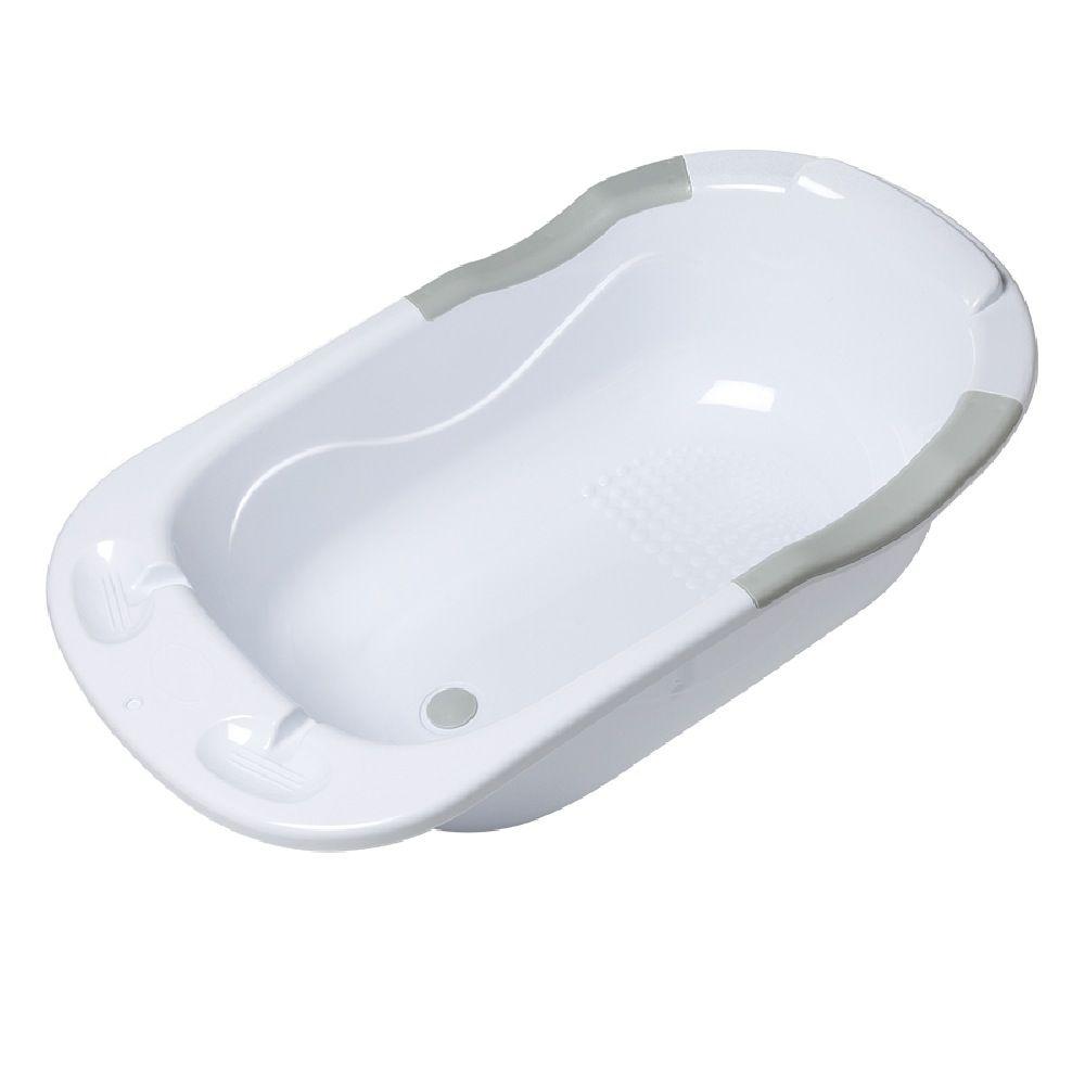 4Baby Infant Bath Tub - White/Grey