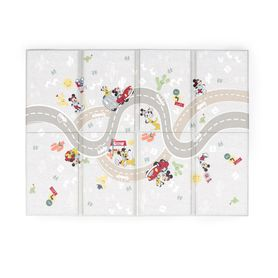Disney Baby Mickey Mouse On The Road Large Folding Foam Playmat