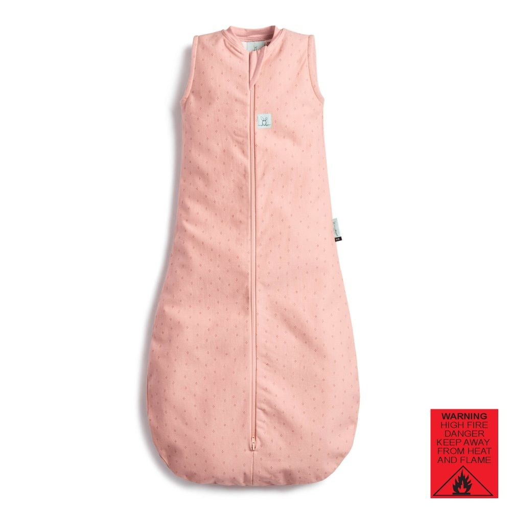 Ergopouch Jersey Sleeping Bag 0.2 Tog Berries 8-24 Months image 1