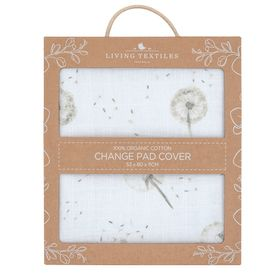 Living Textiles Organic Changepad Cover Dandelion