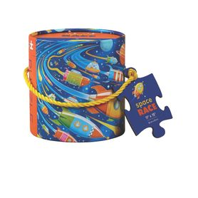 Crocodile Creek 24Pc Puzzle Space Race Canister