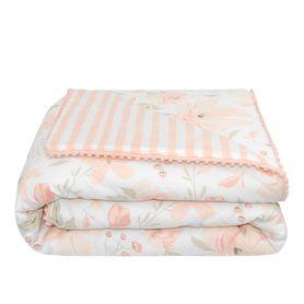 Lolli Living Meadow Cot Comforter Blush