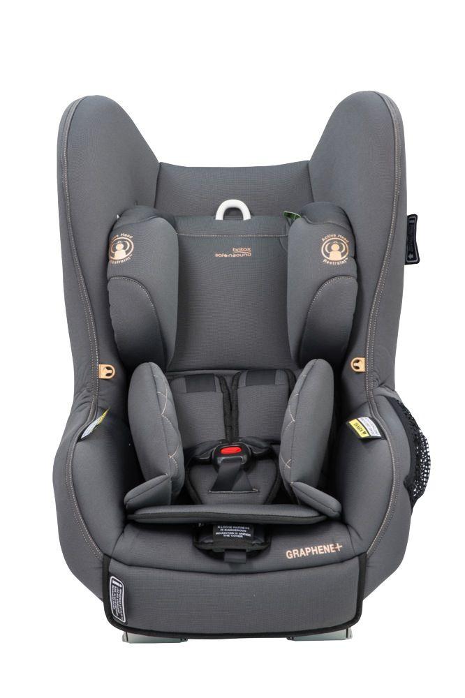 Britax Safe N Sound Graphene+ Convertible Car Seat Grey Opal