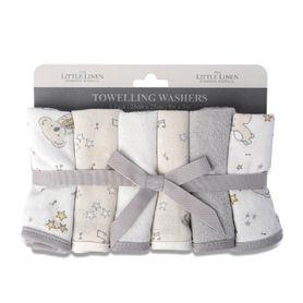 The Little Linen Co Wash Cloth Cheeky Koala 6 Pack