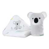 Bubba Blue Aussie Animal Hooded Towel & Bath Mitt Koala image 1