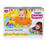 Tomy Toomies Hide & Squeak Bright Chicks image 1